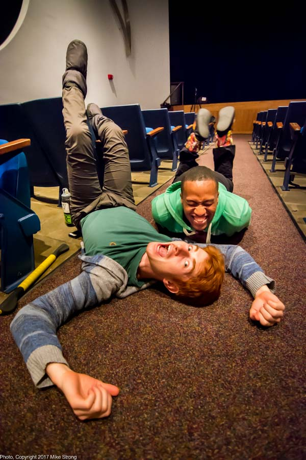 Photo by Mike Strong (KCDance.com) - David Calhoun (front) and John Roberts