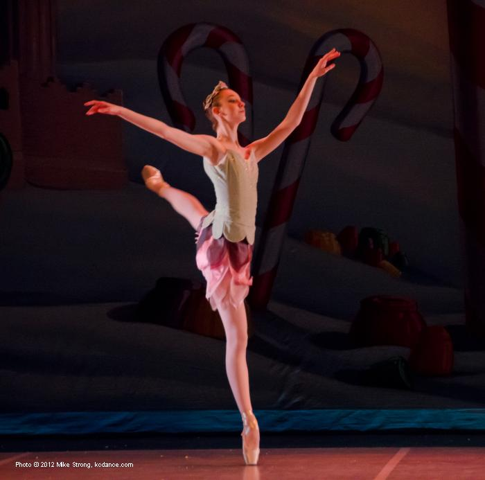 Arel Taylor as a Rose in The Nutcracker (2012)