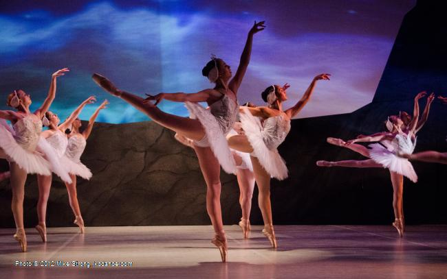 Swan Lake by the American Youth Ballet (of American Dance Center in Overland Park, KS) May 12, 2012 - photo Mike Strong