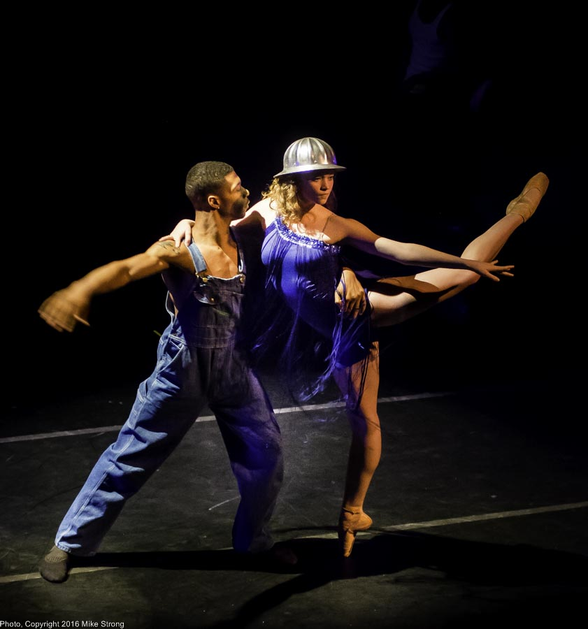 DaJuan Johnson and Phoebe Perry in The Miraculous Man by DeeAnna Hiett and Ronn Tice