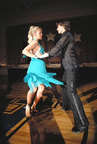 Rumba - Colleen King and Brandon White - Dancing With The Stars - Higginsville Style, Higginsville, Missouri (fundraiser July-Aug 2008)