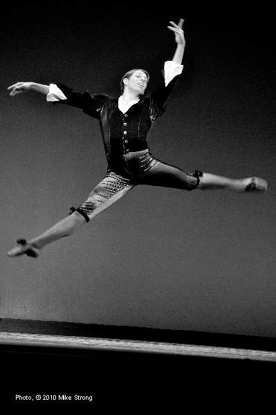 Charles Martin in Mozartina by George Balanchine