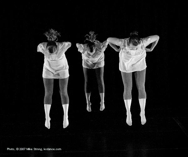 Words - (L-R) Holly Noel Harmison, Lindsay Spilker Tate, Michelle Diane Brown - Music Laura Lisbeth - in the Kacico Song and Dance Project