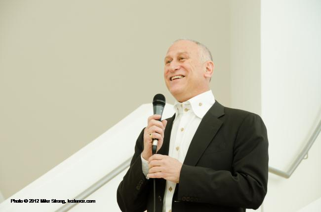 KCB artistic director William Whitener - retirement reception for Kimberly Cowen