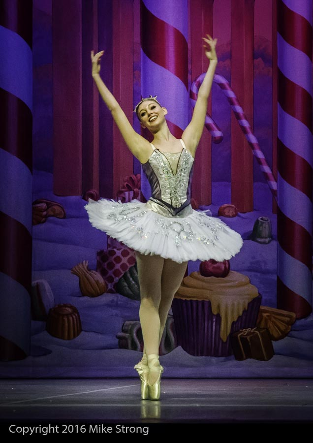 Dena'h Gregory as Sugar Plum Fairy