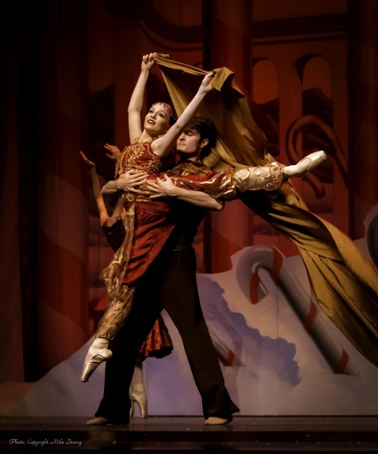Julia Harshbarger and Zach Bennett in Arabian