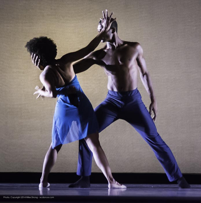 Laurel Richardson and John Swapshire in Heart Thieves by Robert Moses for Wylliams-Henry Contemporary Dance Co.