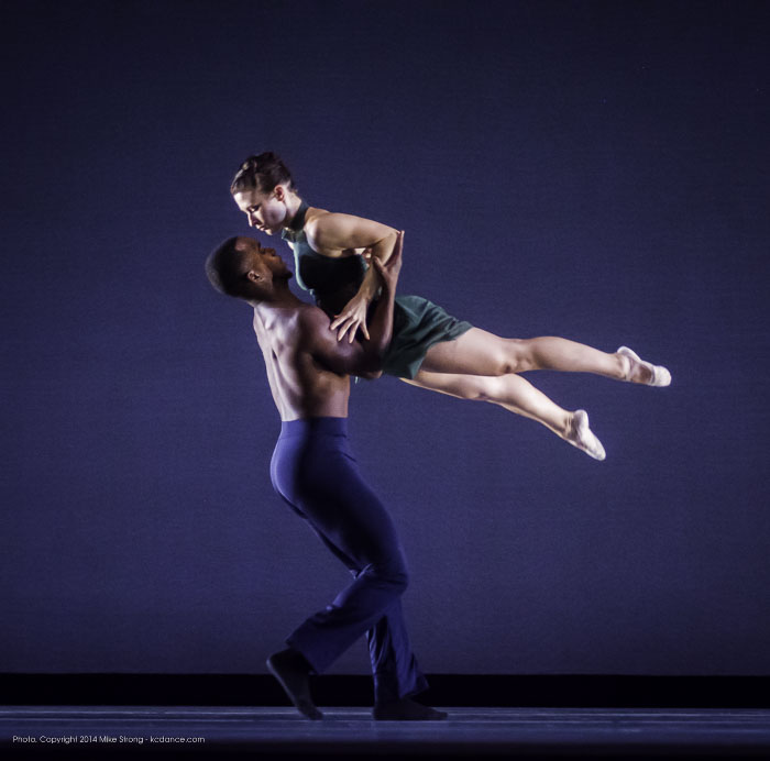 Maleek Washington and Jessica Higgins in Heart Thieves by Robert Moses for Wylliams-Henry Contemporary Dance Co