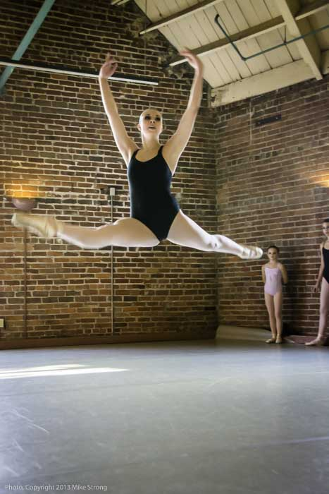 grande jete - Stephanie Ruley
