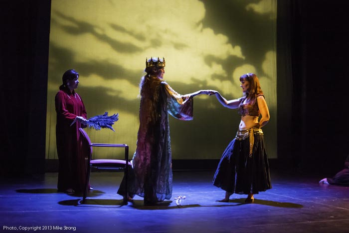 The Dancer (excerpt from The Wanderer) - performers; all dancers - (L-R) Tamira, Holly, Helen
