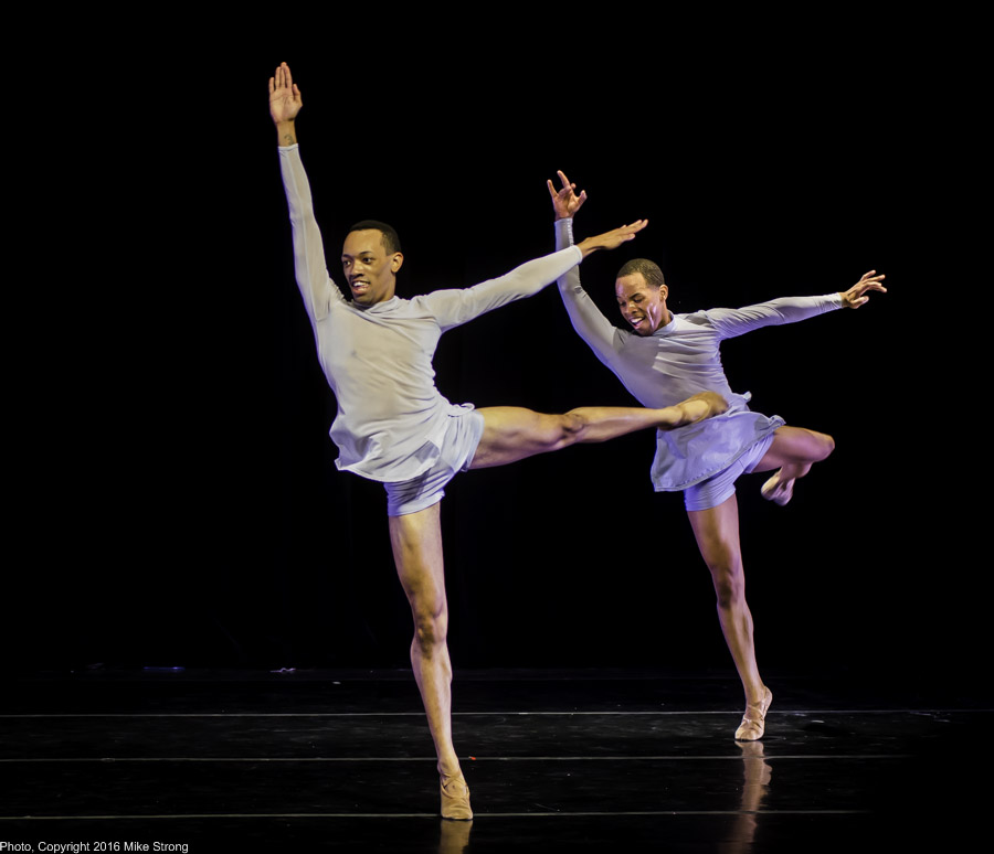 Dallas Black Dance Theatre - De'Anthony Vaughn and Claude Alexander III