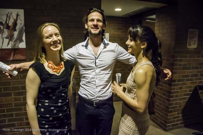 Jane Gotch, Logan Pachciarz and Nadia Iozzo (Saturday evening)