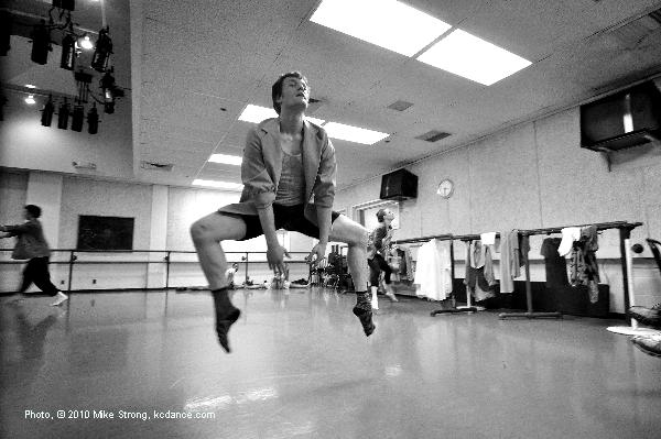 In-Studio rehearsal run through - Michael Tomlinson in 'I Wanna Hold Your Hand' sung by the Beatles and choreographed by Jennifer Medina