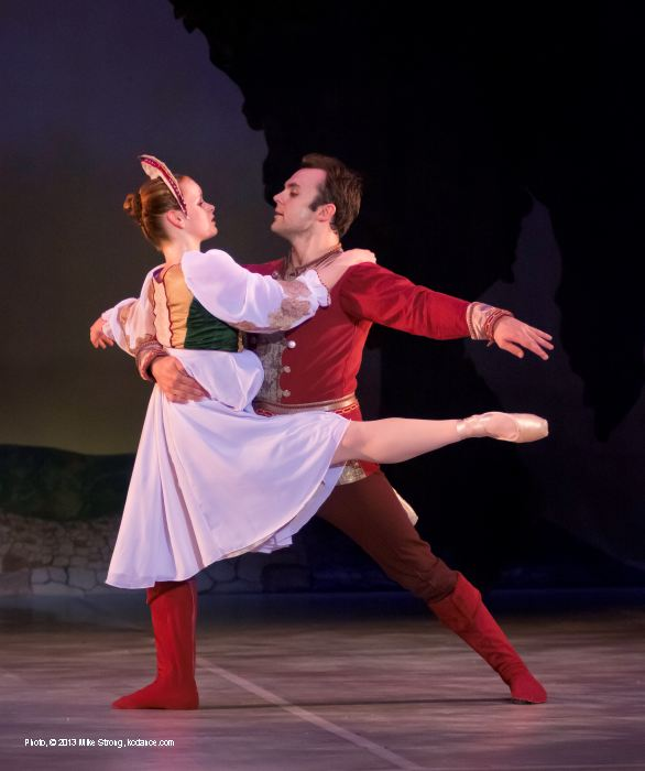 Firebird: Meredith Green (princess) and Erik Sobbe (Prince Ivan)