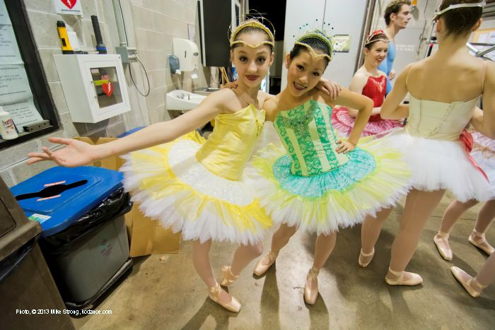 Sleeping Beauty: Molly Cook and Cassie Wang (part of the Fairy Trio at 7pm)
