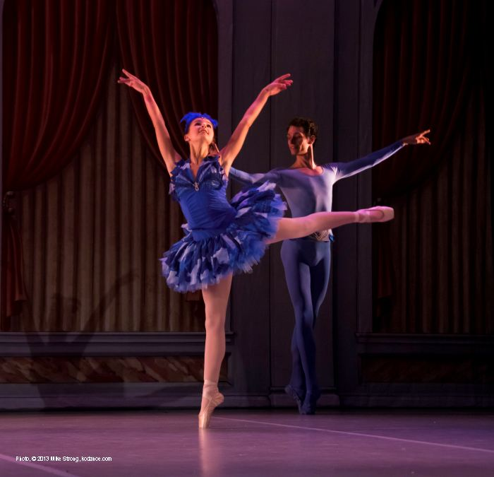 Sleeping Beauty: Katy Hagen (Princess Florine) and Alec Roth (Bluebird)