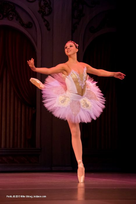Sleeping Beauty: Stephanie Ruley (Princess Aurora, 7pm)