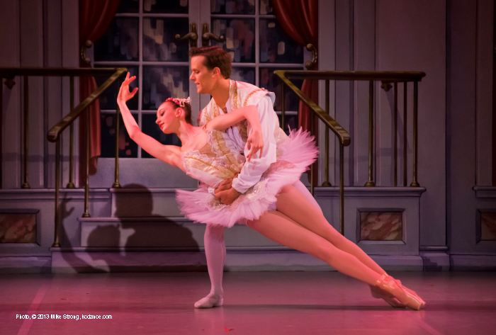 Sleeping Beauty: Taylor Arel (Princess Aurora, 2pm) and Danny Ryan (Prince Desiré)