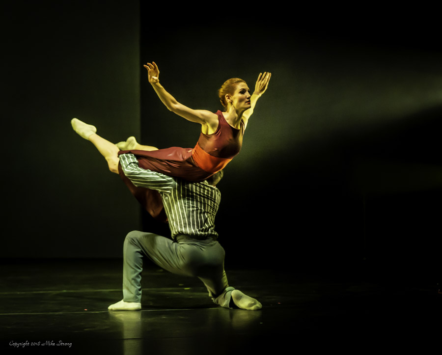 José Soares lifting Laura Jones-Wallner in Alibi for Concept Zero